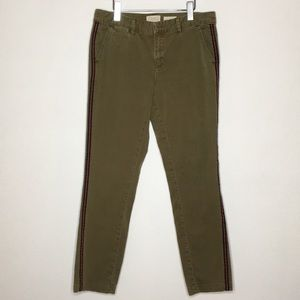 Chino by Anthropologie Side Stripe Relaxed Pant 29